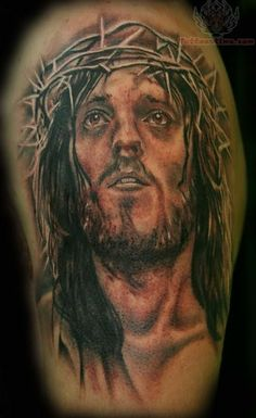 Jesus on the Cross Tattoos | Jesus Tattoos Pictures and Images : Page 6