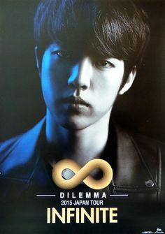"""""""Dilemma 2015 Japan Tour Official Posters do not edit or crop. do not put own logo cr. Hoya Infinite, Kim Myungsoo, High School Love, Akdong Musician, Lee Sungyeol, Nam Woo Hyun, U Kiss, Rock Festivals, Tour Posters"""