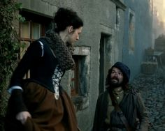 """Caitriona Balfe as Claire Beauchamp Randall in Outlander on Starz 