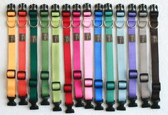 Nylon Webbing Dog Harness -- You choose color | Designer Dog Harnesses | Shop Mimi Green