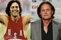 Bruce Jenner, young and old