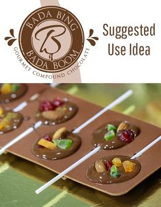 This creamy and smooth milk compound chocolate is made from the highest quality, ethically traded ingredients. Perfect for molding and candy making. Halloween Chocolate, Chocolate Treats, Chocolate Molds, Homemade Chocolate, Melting Chocolate, Chocolate Recipes, White Chocolate, Chocolate Making, Bada Bing