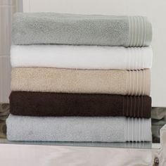 Bamboo Towels by Peacock Alley
