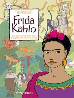 El comic se centra en el triángulo de infidelidad, confrontación ideológica y fertilidad creativa entre Kahlo, Rivera y Trotski. Foto:Delcourt.