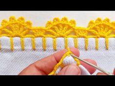 Crochet Edging Patterns, Free Pattern, Crochet Earrings, Yoga, Dish Towels, Handmade Crafts, Crochet Decoration, Jesus Face, Bebe