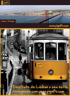 Desfrute de Lisboa o seu estilo navegando com www.pigafe.com
