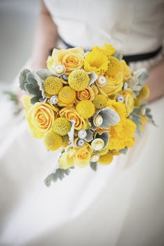 Yellow bouquet (fall).