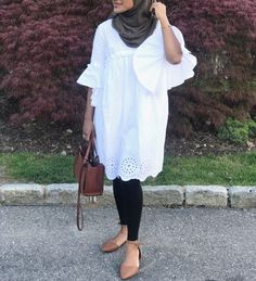 Modest Wear, Modest Outfits, Chic Outfits, Girl Outfits, Fashion Outfits, Abaya Fashion, Muslim Fashion, Modest Fashion, Modele Hijab