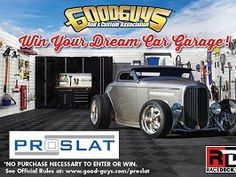 Win PROSLAT and Racedeck Garage Flooring from PROSLAT and RaceDeck Dream Car Garage Giveaway #usafreebiesdaily