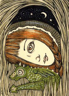 Anita Inverarity https://www.etsy.com/uk/listing/629259449/smok-trio-canvas-aceo-prints