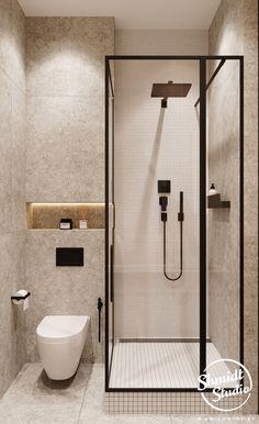 Small Bathroom Plans, Small Bathroom Layout, Modern Bathroom Tile, Modern Bathrooms, Bathroom Ideas, Washroom Design, Bathroom Design Luxury, Bad Inspiration, Bathroom Design Inspiration