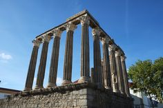 Timeless: Temple of Diana which was contructed in the first millenia during Roman period. Marina Bay Sands, Diana, Temple, Period, Roman, Portugal, Architecture, Building, Travel