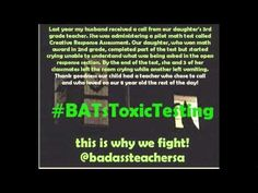 BATs Toxic Testing - Memes by Kelly Braun...this is a MUST watch...more than once!!! ^0^