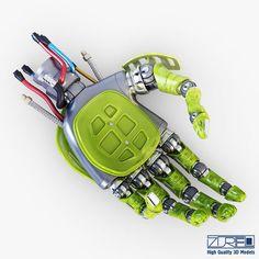 Bio robotic hand v 4