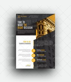 Agriculture Company Flyer Template Poster Design Layout, Graphic Design Brochure, Flyer Layout, Graphic Design Posters, Resume Design Template, Flyer Template, Portfolio Architecture Cover, Tutoring Flyer, Case Study Design