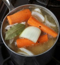 chicken stock safety - keeping it bacteria and pathogen free, plus a recipe