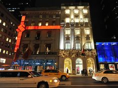New York// Cartier store 5th Ave