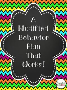 I have to share an amazing system for those students that need a little incentive for their behavior that works like a video game. The student knows exactly what to expect, and there are no s...