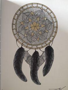 Dream Catcher, Mandala, Inspired, Tattoos, Drawings, Inspiration, Home Decor, Biblical Inspiration, Dreamcatchers