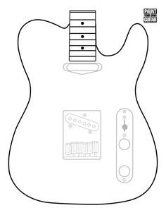 How to Build an Electric Ukulele!: 25 Steps (with Pictures) Fender Telecaster, Fender Guitars, Acoustic Guitar Cake, Jazz Guitar, Banjo, Cigar Box Guitar Plans, Build Your Own Guitar, Body Template, Guitar Chord Chart