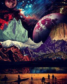 Collage art