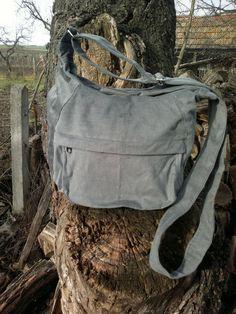 Grau, Cord RV-Tasche von AKOMBAKOM auf DaWanda.com