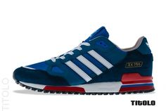 adidas Originals ZX 750 - Bluebird & Red