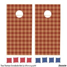 Add some friendly fun to the BBQs, tailgates, and outdoor activities with Cornhole cornhole sets from Zazzle. Design your own boards and choose from various colored bean bags to create the perfect cornhole set. Cornhole Set, Cornhole Boards, Design Your Own, Tartan, Create Your Own, Activities, Fun, Plaid, Hilarious