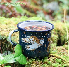 My Owl Barn: Illustrator: Phoebe Wahl Unique Kids Toys, Autumn Aesthetic, My Cup Of Tea, Cute Mugs, Ceramic Clay, Botanical Prints, Tea Set, Gifts In A Mug, Illustration