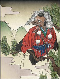 Ko-tengu | Yokai.com