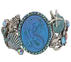Kirks Folly Lorelei Sea Queen Cuff Bracelet