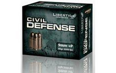Liberty Ammunition Civil Defense (9mm, .45 ACP, .40 S&W, .380 Auto) | VIDEO | New Product | Tactical Life