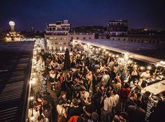 La terraza del Hotel Pulitzer Barcelona inicia hoy la temporada de verano y abre todas las tardes