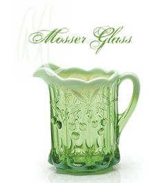 Mosser Glass in Cambridge, OH - beautiful hand-pressed glass products