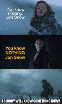 Yeah, you do, Jon!