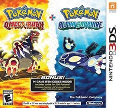 Pokemon Omega Ruby and Pokemon Alpha Sapphire Dual Pack - Nintendo 3DS