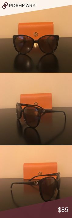 Tory Burch Tortoise Shell Sunglasses Tory Burch Sunglasses TY 9013 510/13 58MM. Sold with case! Purchased from Nordstrom. Tory Burch Accessories Sunglasses