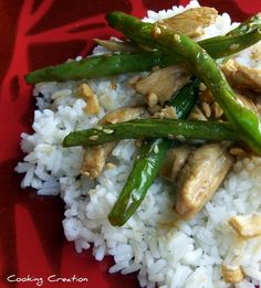 Cooking Creation: Chinese Chicken and Green Beans