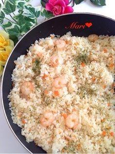 海老ピラフ #recipe