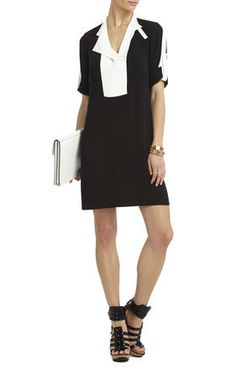 Agnes Trench Shirt Dress | BCBG--would so wear this out
