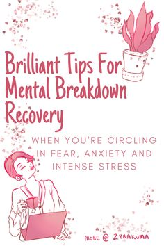 When you're having a mental breakdown, you're circling with all these thoughts of beyond fear, anxiety and intense stress. It's one way your body is telling you that they're in emotional distress. Here are 4 tactics to recover from a mental breakdown.  #nervousbreakdown #nervousbreakdownsymptoms #havinganervousbreakdown #nervousbreakdownquotes Meditation Techniques For Beginners, Mindfulness For Beginners, How To Control Emotions, Understanding Emotions, Mental Breakdown Symptoms, Anxiety Relief, Stress And Anxiety, Mental Health, Health Talk