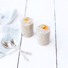 Creamy Orange Chia Pudding with a zest of orange made with Florida Orange Juice in minutes!
