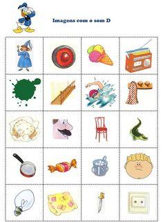Casulo_ Materiais de Terapia da Fala: Som D Flashcards For Kids, Speech And Language, Christian Faith, Speech Therapy, Classroom Management, Homeschool, Crafts For Kids, Teaching, Studio