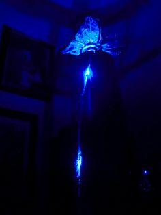 Butterfly Eucalyptus Led Lamp