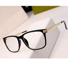 KOTTDO Fashion Cool Glasses Women Retro Vintage Reading Myopia Eyeglasses  Frame Men Square Glasses Optical Clear 549db4d717