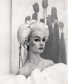 Jean Shrimpton by Cecil Beaton, ca. 1964.