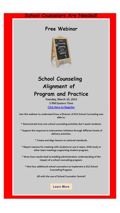 Counseling Office, Counseling Psychology, K12 School, School Counselor, No Response, Join, Student, Activities, Education