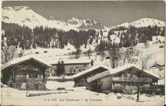 Les Diablerets  La Tornettaz  1921 Postcard by StarPower99 on Etsy, $4.00