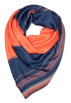Phaxi III Silk Crepe Satin Scarf by ViviAndeanDesigns on Etsy, £165.00