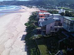 At-The-Sea, Wilderness - Our luxurious self-catering house, on the beach in Wilderness, offers panoramic views of the ocean and golden beach. The house has a modern, fully equipped kitchen, and barbeque facilities on the patio, ... #weekendgetaways #wilderness #southafrica